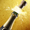 Popping Champagne by T.wayne