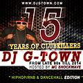 15 YEARS OF CLUBKILLERS MIXTAPE   hosted by MC SHOCKWAVE