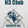 derART live @ N3 Club Berlin - Double BDay (25.03.2017)