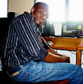 HE KNOWS HIS MUSIC SWEEPER BY KWMAE ADU