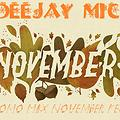 Deejay Mic Promo Mix November Fest