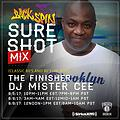 MISTER CEE SURE SHOT MIX BACKSPIN SIRIUS XM 8/5/17
