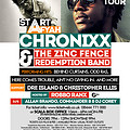 Official promo cd by @SIRDJCOREY for @IAMCHRONIXX Start A Fire Tour SUNDAY 13:10:2013