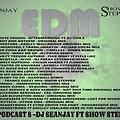 EDM PODCAST 8 DJ SEANJAY FT SHOW STEPPER