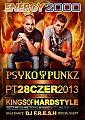 Energy 2000 (Przytkowice) - Kings Of Hardstyle pres. PSYKO PUNKZ (28.06.2013) Part 1 up by PRAWY - seciki.pl