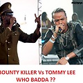 TOMMY LEE VS BOUNTY KILLER [SAGA WHO BADDA ] NOVEMBER 2012