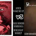 AVICII WAKE ME UP VS NICKY ROMERO SYMPHONICA -DJ SEANJAY MASHUP FULL TG