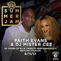 "FAITH EVANS & DJ MISTER CEE ""20 YRS OF B.I.G."" TRIBUTE PERFORMANCE @ HOT 97 SUMMERJAM METLIFE STADIUM NJ 6/11/17"