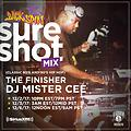 MISTER CEE SURE SHOT MIX BACKSPIN SIRIUS XM 12/2/17