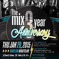 The Mix on CKCU 93.1FM january 2,2015 --[start of the year ]