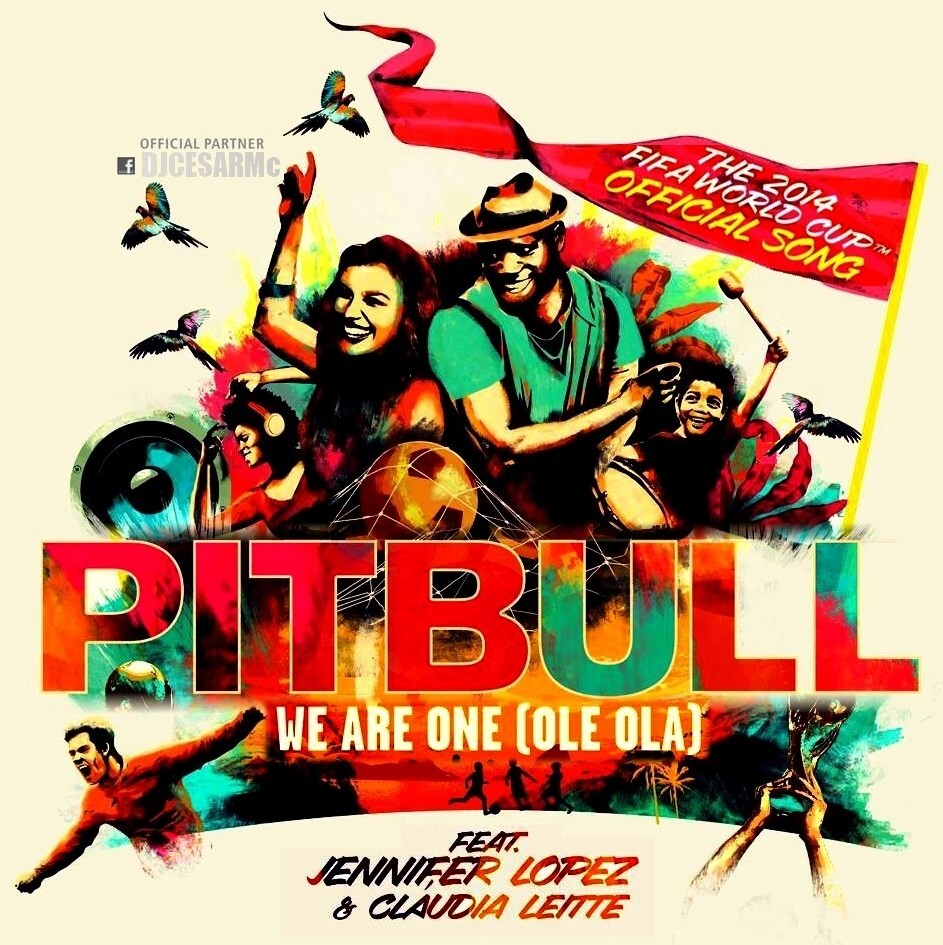 Pitbull ft JLo ft Claudia Leitte - We are one (Bastard