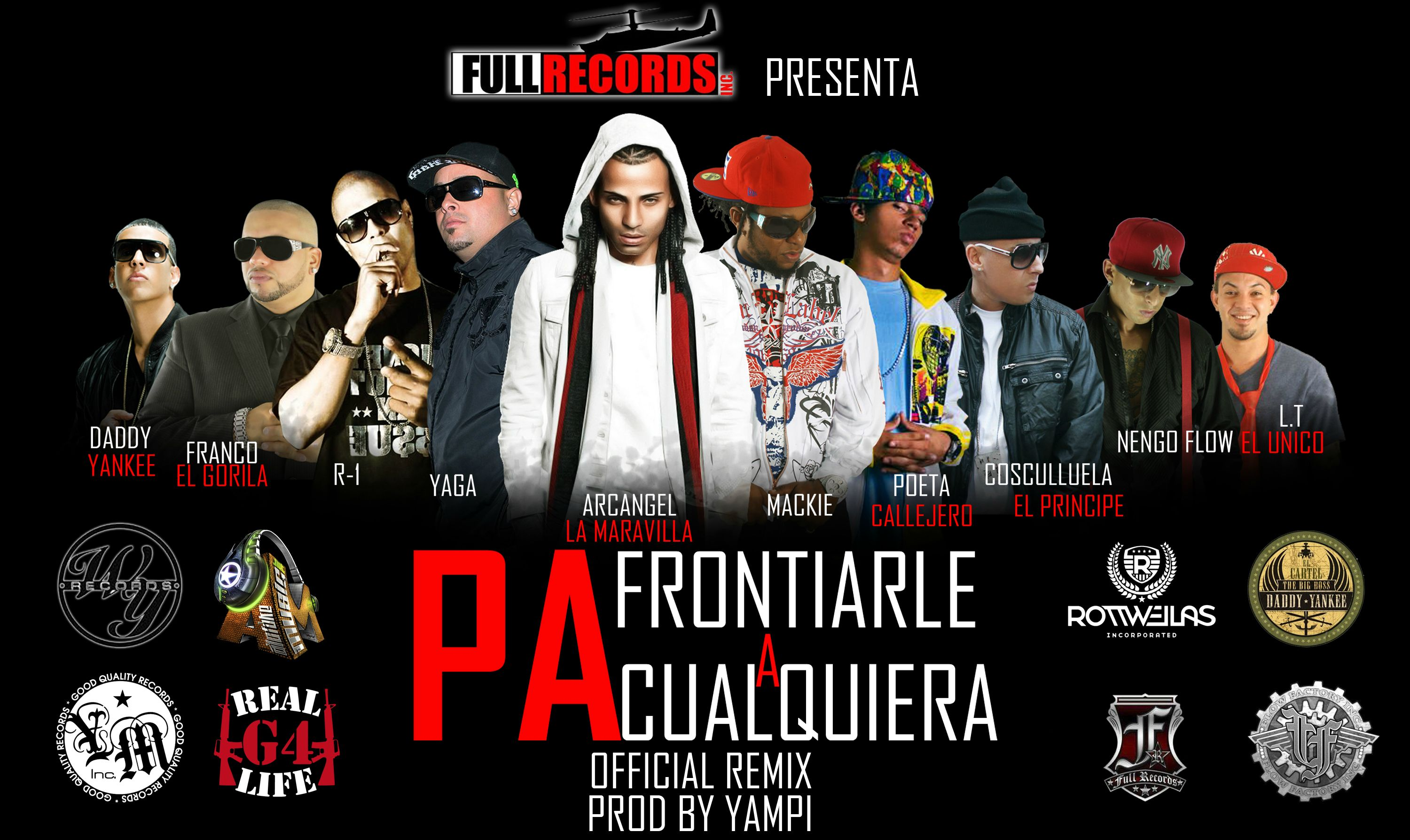 daddy yankee pa frontiarle a cualquiera