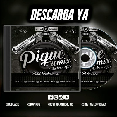 Invisible ft El Estudiante - Que Le Paso - Pique Remix